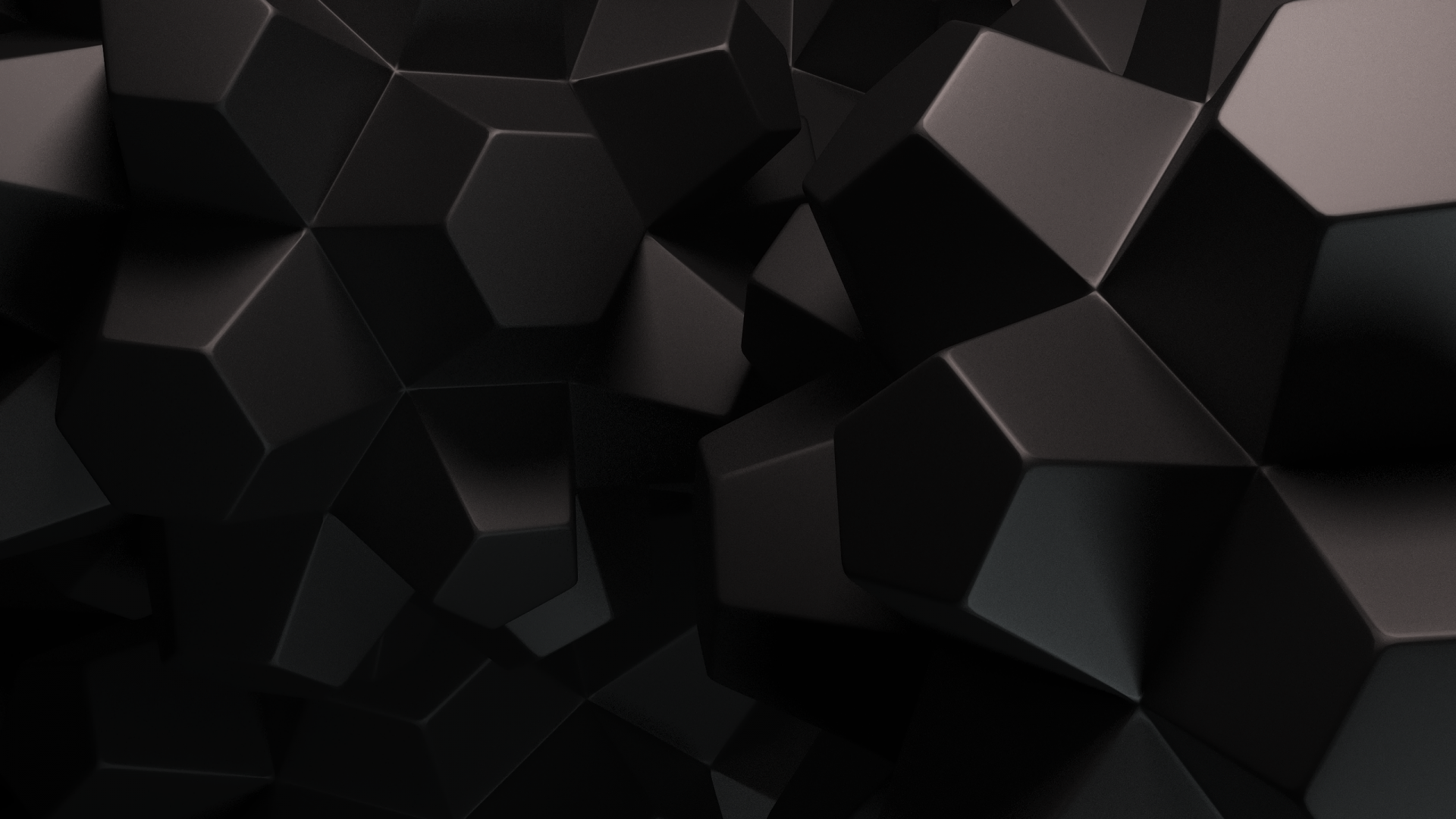 Geometric Black Background Black background wallpaper