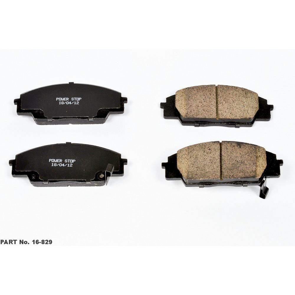 Front And Rear Ceramic Discs Brake Pads Kit Fits Acura RSX Honda Civic S2000