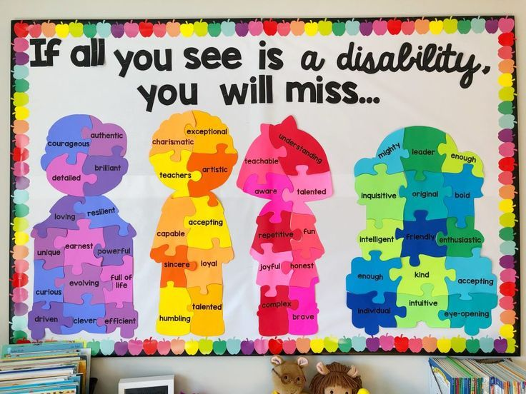 Disability Awareness Bulletin Board Display #rabulletinboards