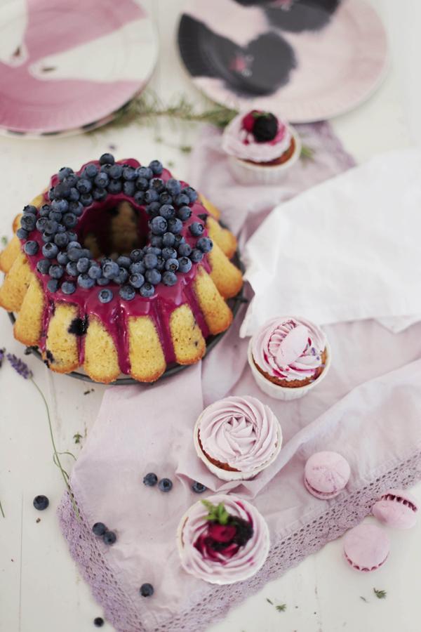 Blueberry Bundt Cake | Fräulein Klein