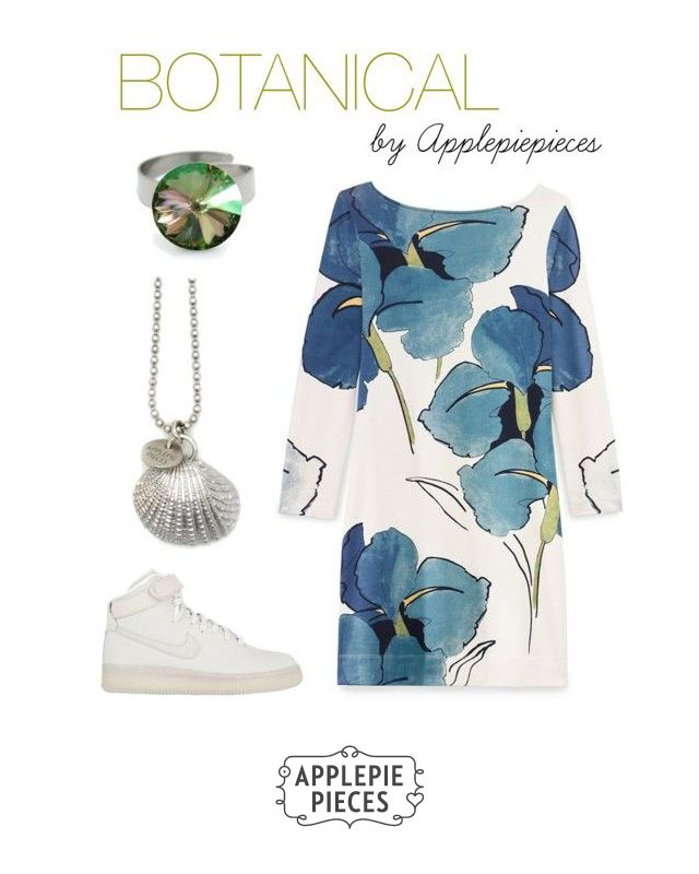 Botanical inspiration 2 by applepiepieces on Polyvore featuring mode, Tory Burch and NIKE