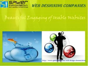 Choose best web design company in Chennai