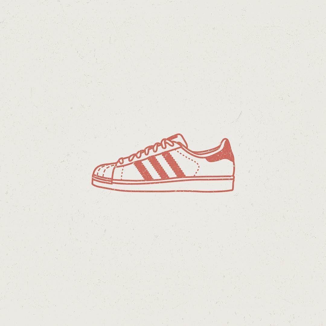 Adidas Superstar \ #Illustration #illustrator #logoplace #vector  #graphicroozane #