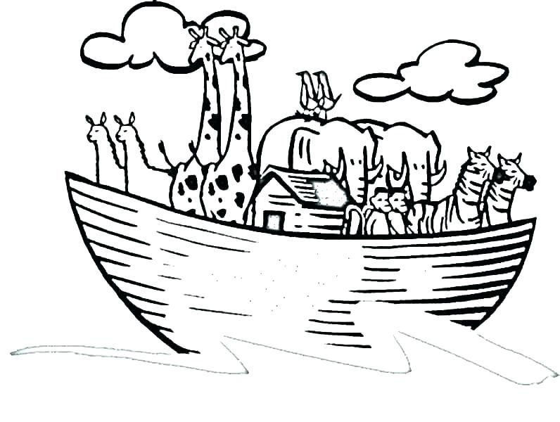 Ark Coloring Page Com Colouring Pages For Kids Noah Ark Coloring