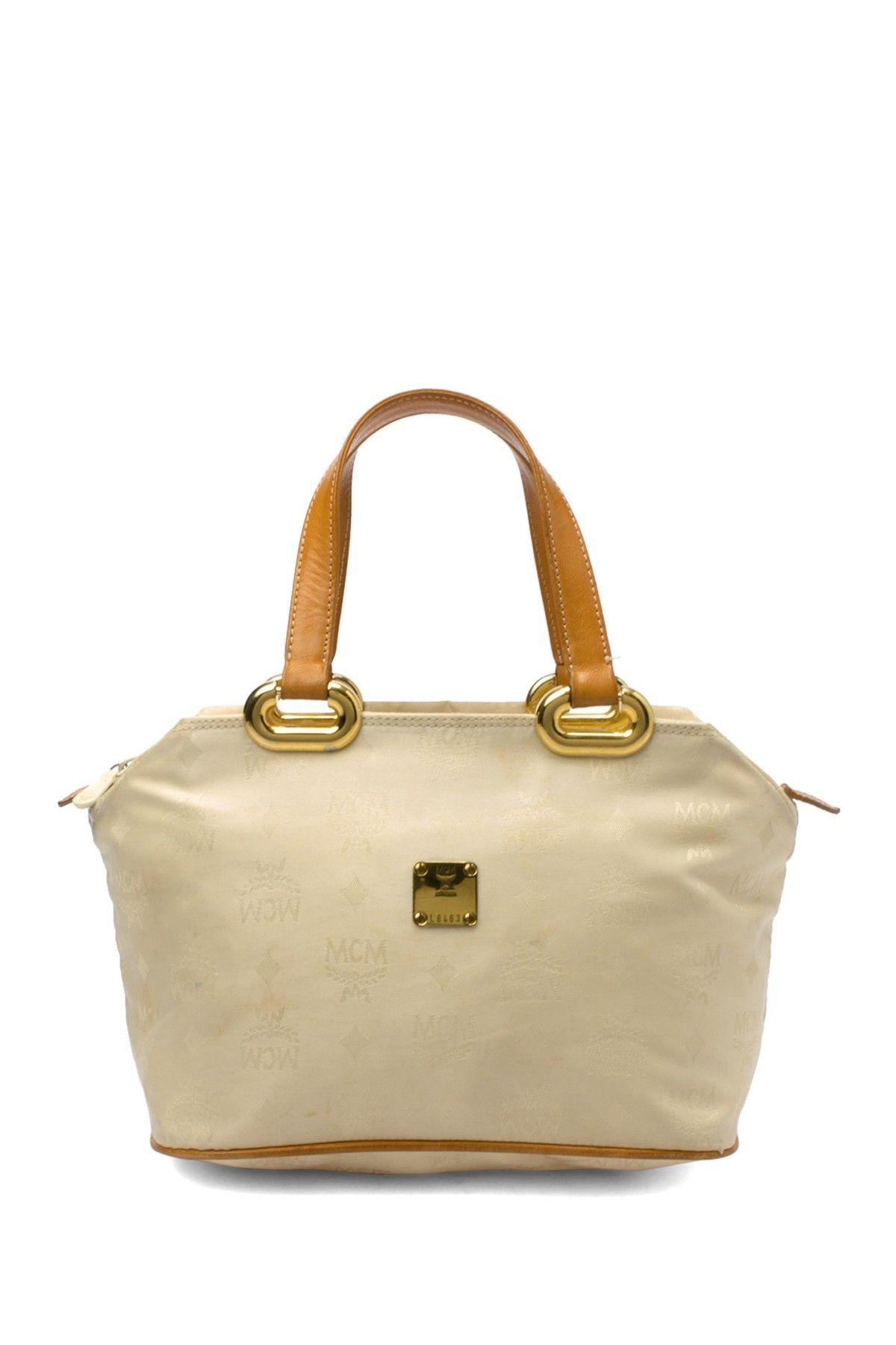 9ea1118862e1 MCM Cotton Handbag