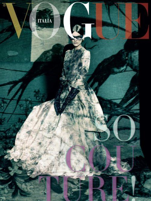 Marie Piovesan photographed by Paolo Roversi for Vogue Italia, March 2012