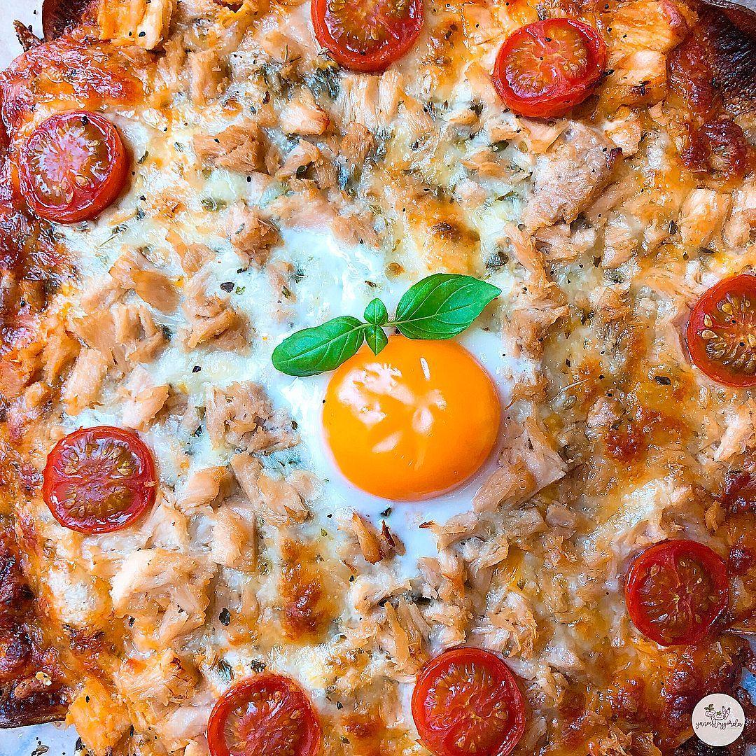 Patatapizza De Bonito Y Huevo Recetas Con Verduras Recetas Fáciles Recetas De Bonito