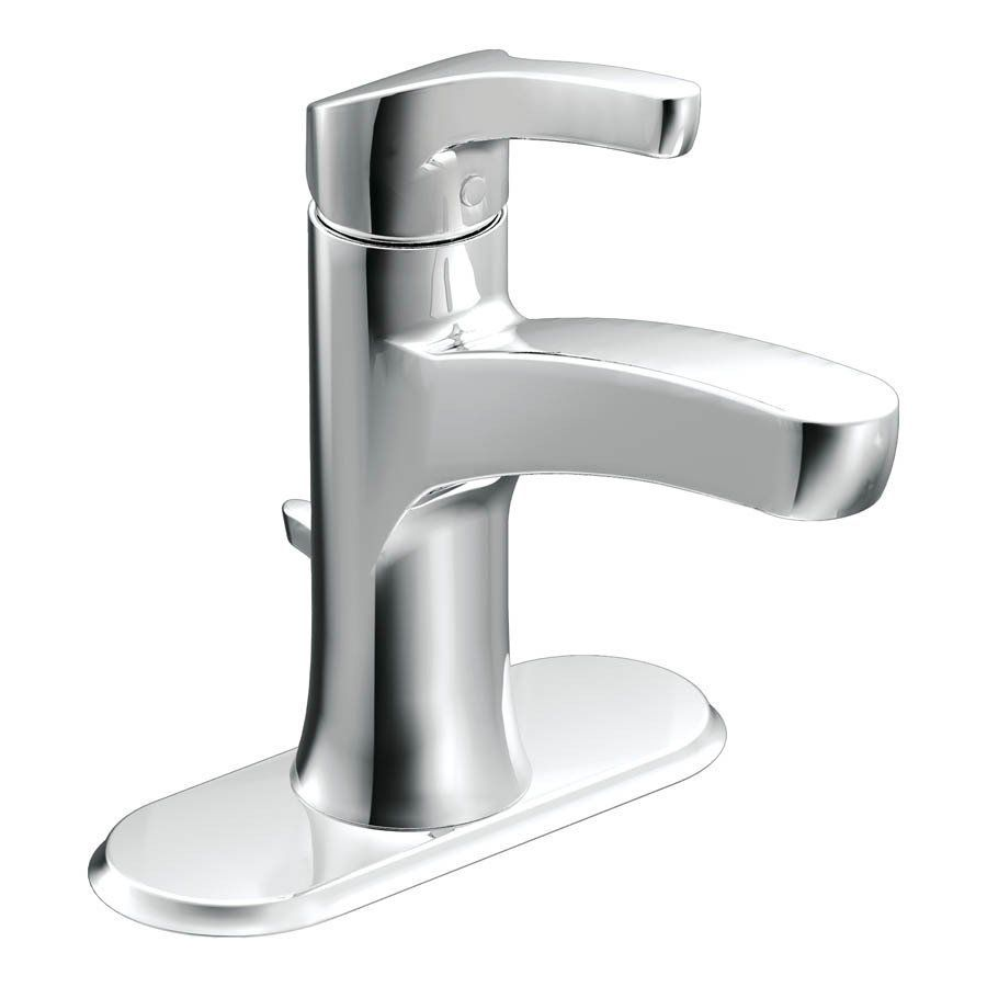 Moen L84733 Danika Single Handle Watersense Bathroom Sink Faucet ...