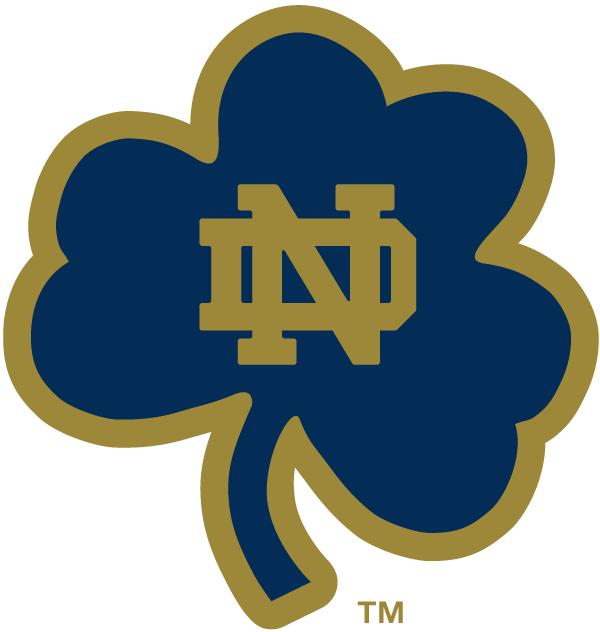 Notre Dame Fighting Irish Alternate Logo Notre Dame Football Notre Dame University Notre Dame Logo