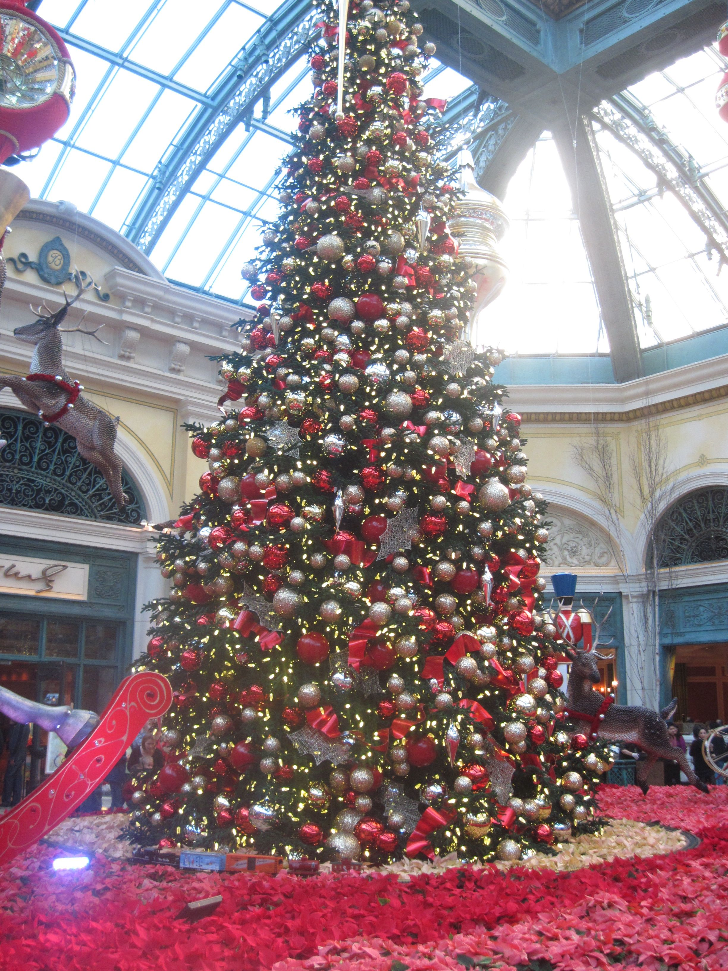 Christmas Tree Bellagio, Vegas