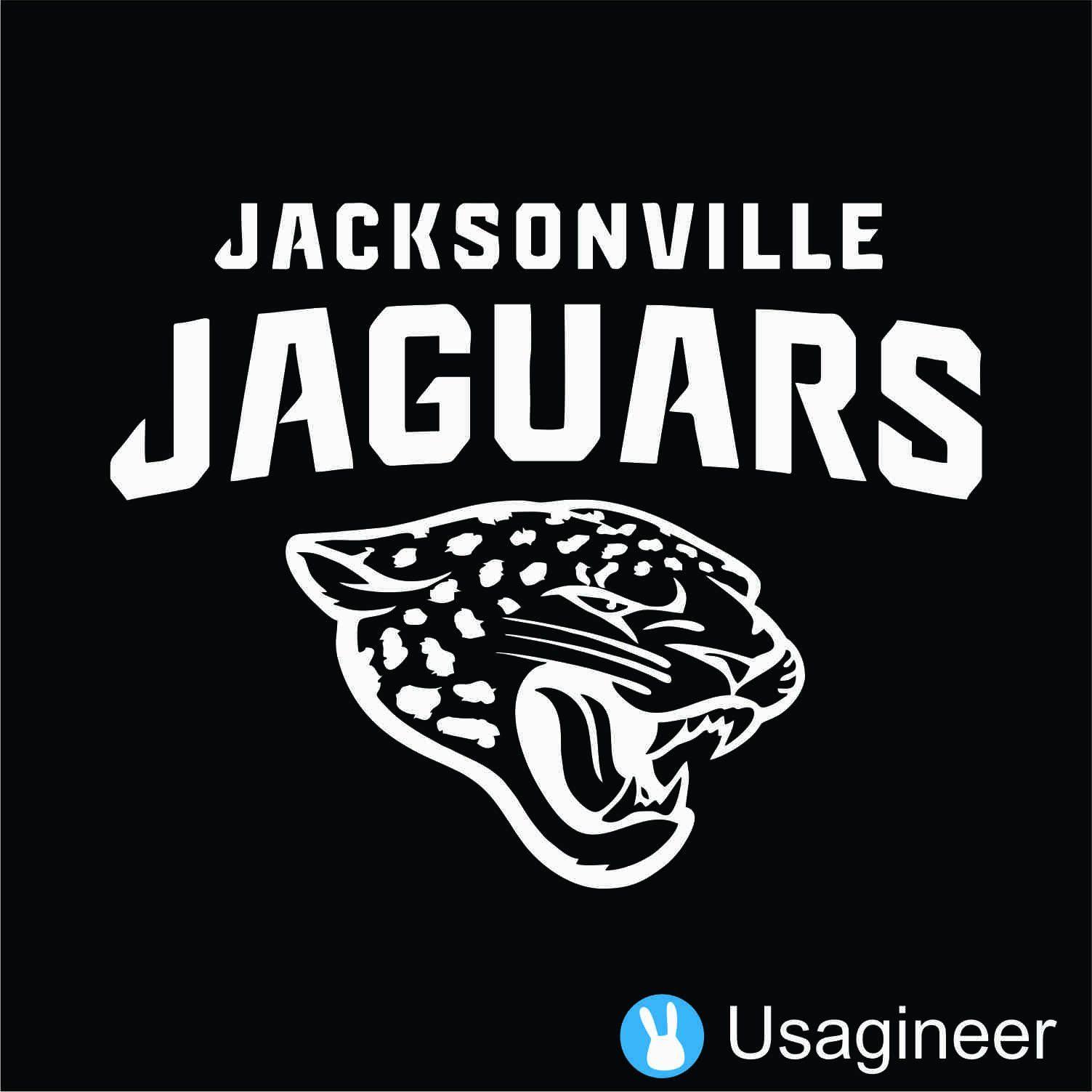 JACKSONVILLE JAGUARS NFL Sports VINYL DECAL STICKER