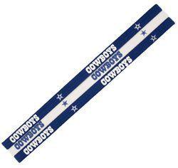 Dallas Cowboys Elastic Headbands