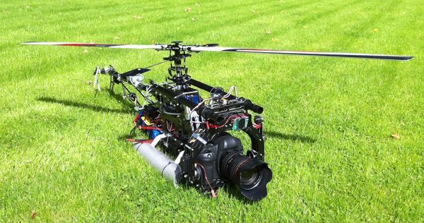 Aerial Photography with RC Helicopters | camera fly | Pinterest ...