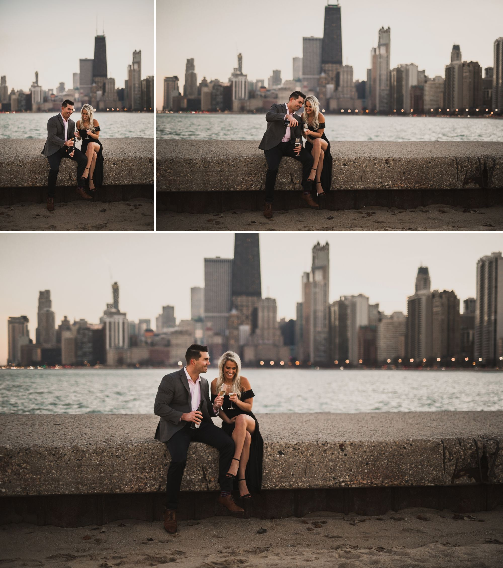 A Romantic Engagement Session In Chicago Engagement Photos Fall Chicago Engagement Photos Detroit Engagement Photos