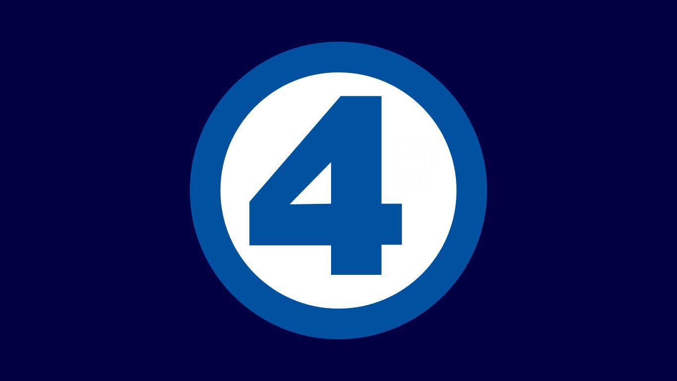 Fantastic 4 Symbol Wp By Morganrlewis On Deviantart Symbols School Logos Logos