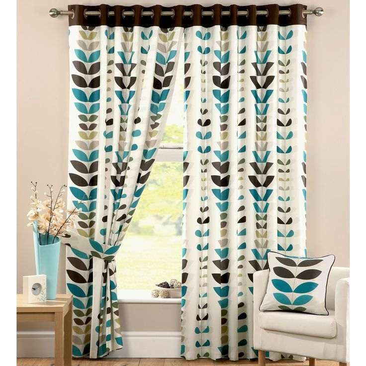 Image Result For Curtains Teal Olive Rust Navy Print Teal Curtains Brown Bathroom Decor Curtains Living Room #rust #curtains #for #living #room