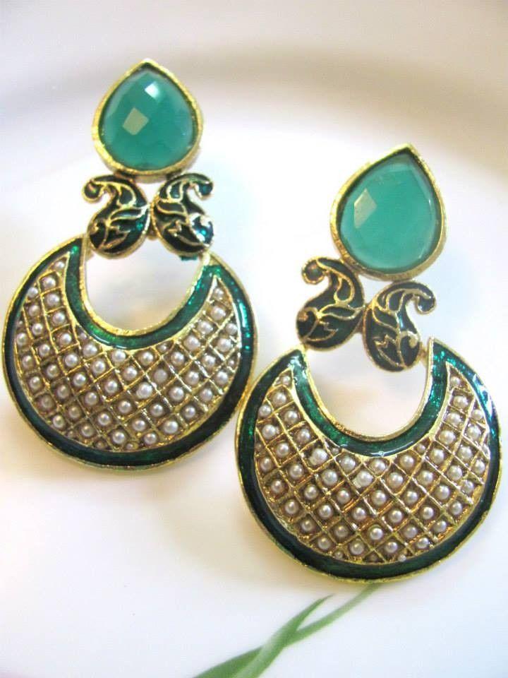earrings design - Google Search   Jewllery For Girls   Pinterest