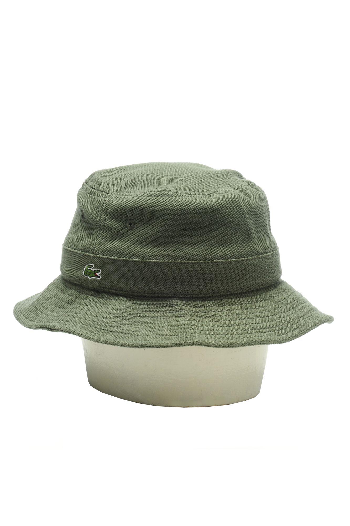 875e9441 Lacoste Men's Pique Bucket Cap : Caps & Hats | Cool stuff 78 | Hats ...