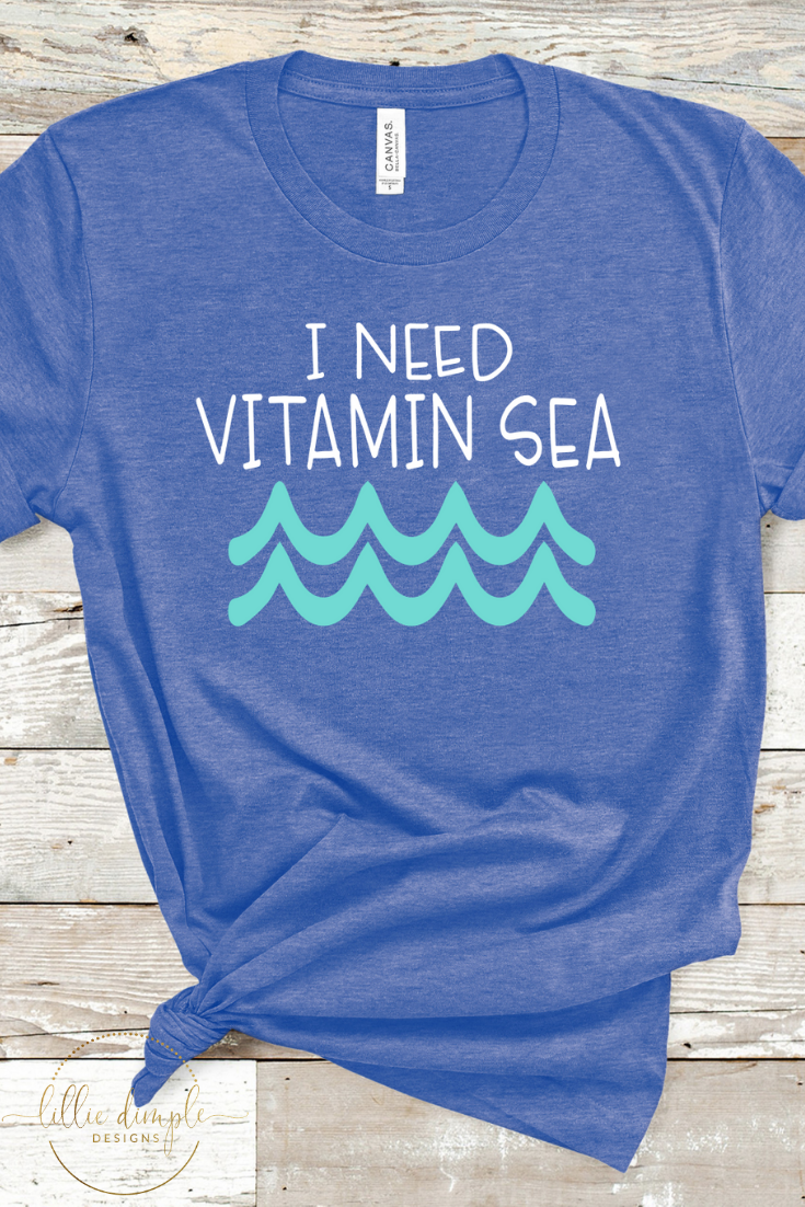 5433601dc440 Show off your summer style with this fun beach inspired t-shirt. This soft