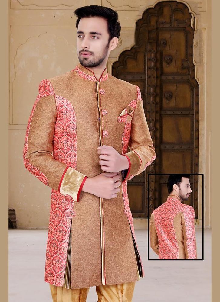 Indostyle Indian Ethnic Dress Designer Readymade Bollywood Mens Wedding Sherwani #KriyaCreation
