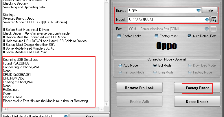 DownloadMiracle FRP Tool Version 1 22 Latest Setup : MIRACLE FRP