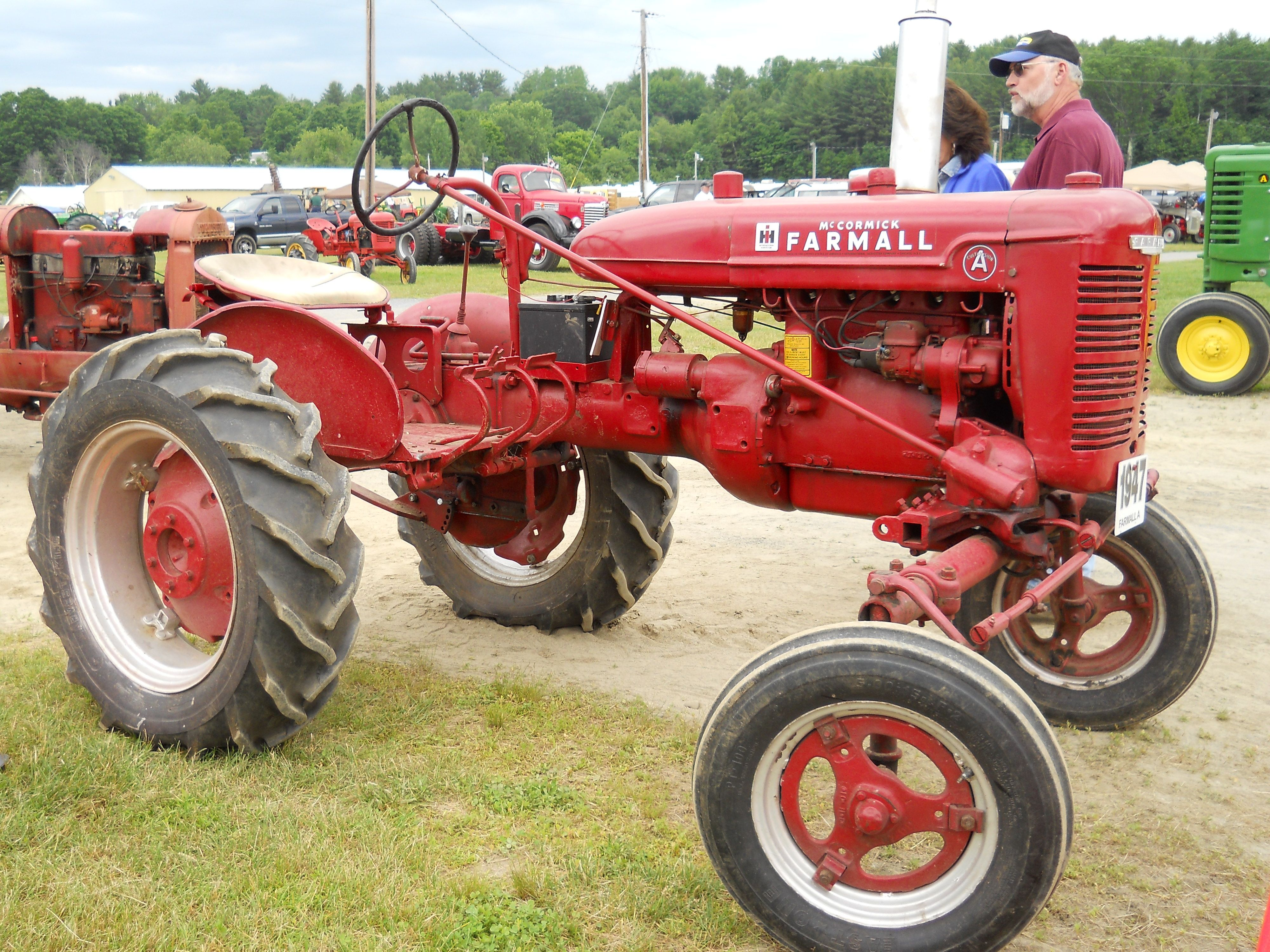 1947 Case Tractor : Farmall a tractor https youtube user