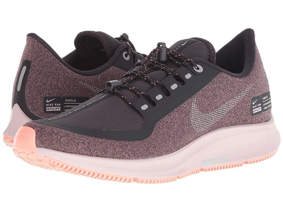 ea6b5f9556a3 Nike Air Zoom Pegasus 35 Shield Women s Running Shoes Oil Grey Metallic  Silver Smokey Mauve