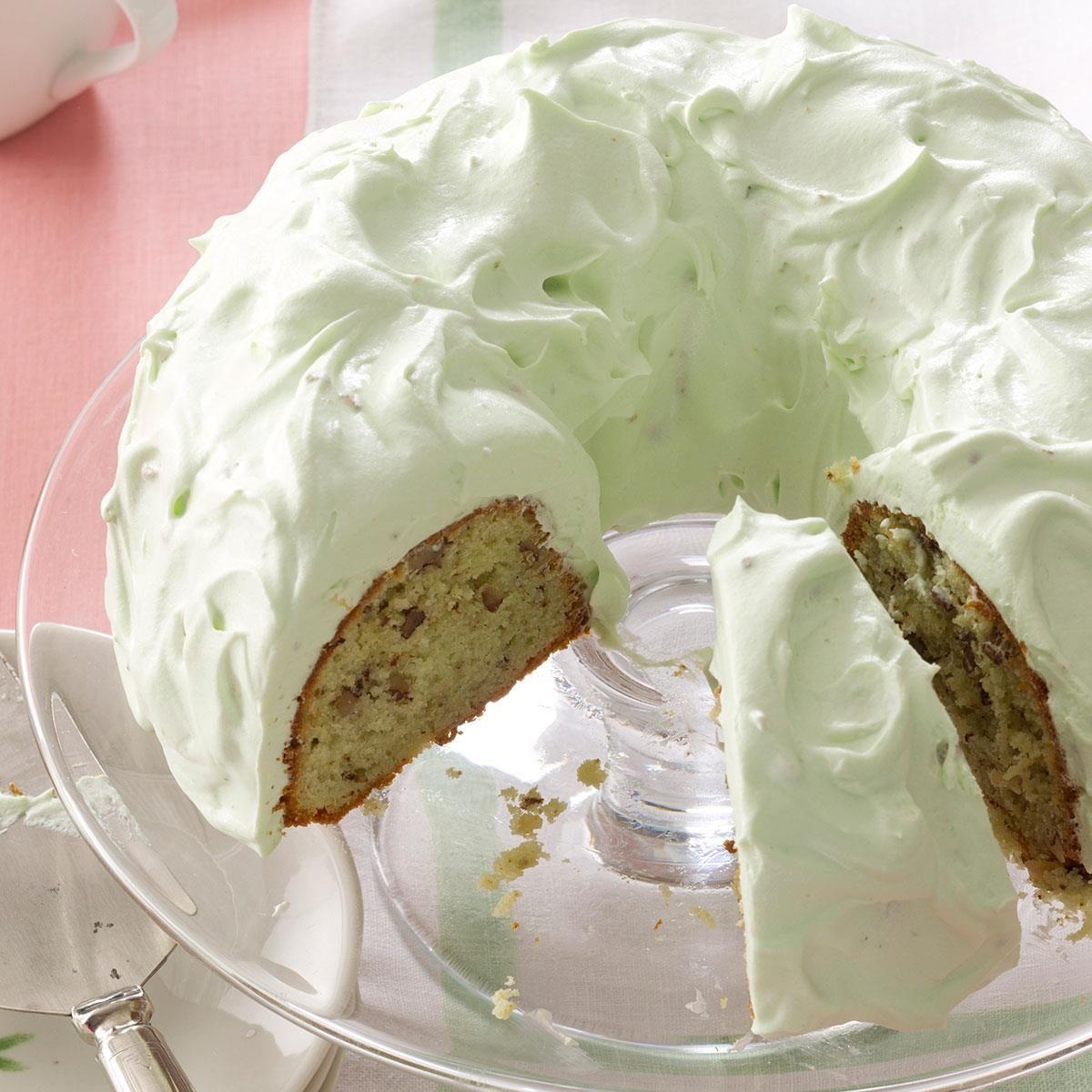 Pistachio Cake with Walnuts Recipe Pistachio cake Walnut