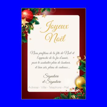 Carte Joyeux Noel à Imprimer Gratuit Boule De Noel Book Cover
