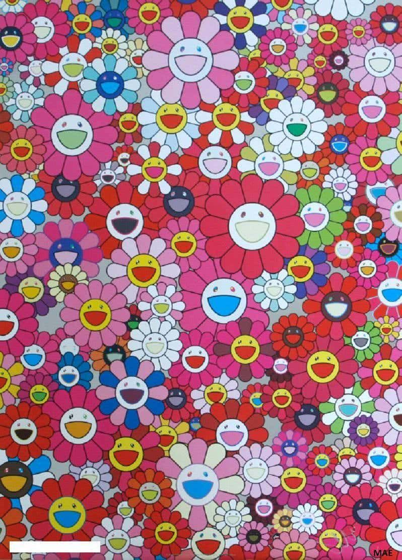Takashi Murakami Murakami print with cold stamp, signed
