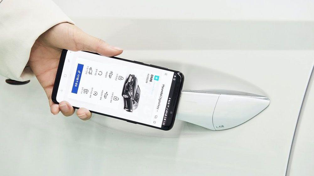 Kije ćemo Do Kraja Godine Otključavati Pomoću Mobitela Digital Key Hyundai Hyundai Motor