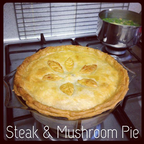 Steak and Mushroom Pie (the way the British make them!) I ...