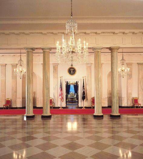 Blue Room White House Museum Inside The White House White