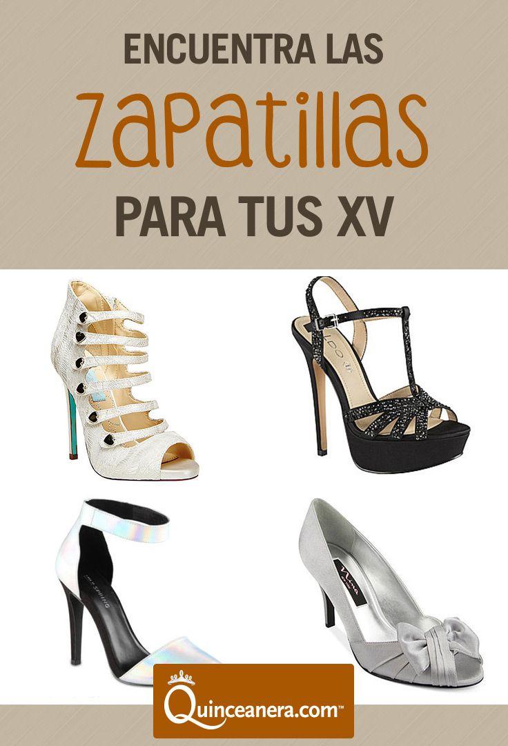 Las Zapatillas Perfectas Para Tu Quince <3 &#124; Quinceanera Shoe Heels &#124; Shoe  Heels &#124;
