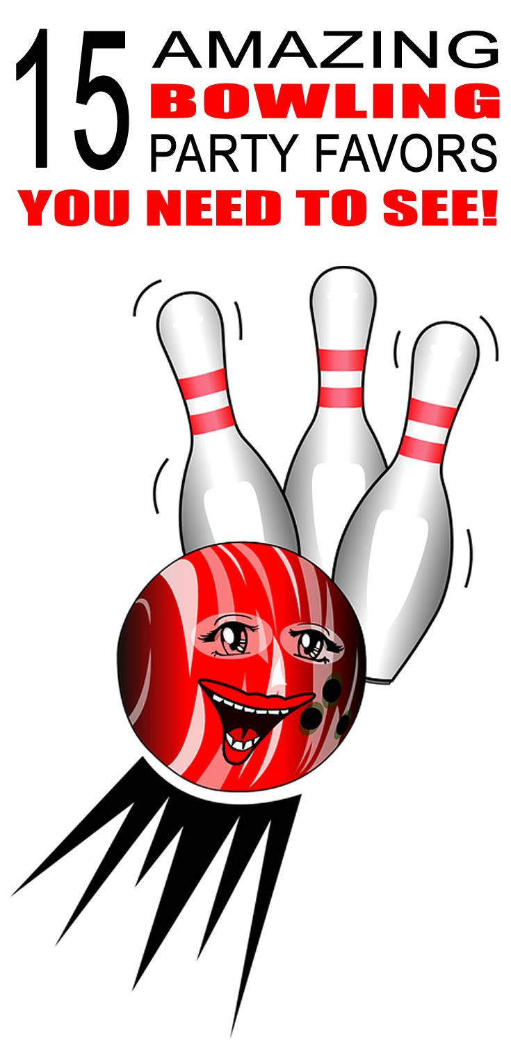 Bowling Party Favor Ideas | Bowling party favors, Bowling party and ...