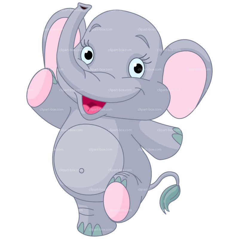 CLIPART WALKING ELEPHANT   Royalty free vector design ...