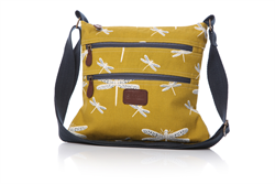 Go for something bold this Autumn - check out the new Dragonfly bag from Shruti £29 in Mustard - Looks stunning with navy blue ... shop online now at http://www.melburygallery.co.uk/shop/bags-and-purses/ #shruti #dragonfly #greatgiftidea xx