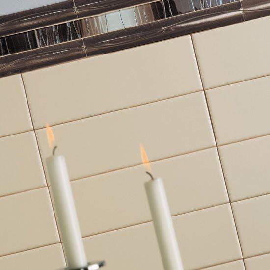 Master bath subway tile Modern Dimensions Modern Dimensions in