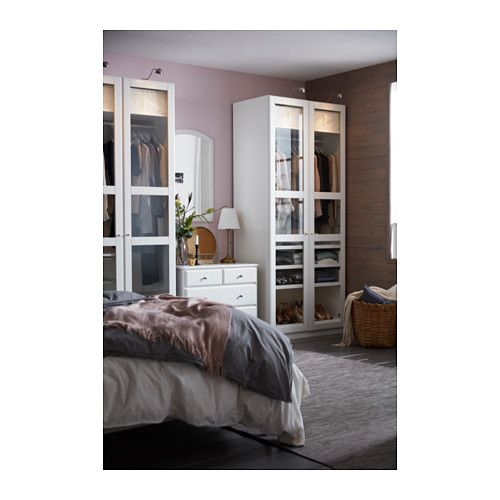 pax kleiderschrank 100x60x236 cm scharnier sanft schlie end ikea kleiderschrank. Black Bedroom Furniture Sets. Home Design Ideas