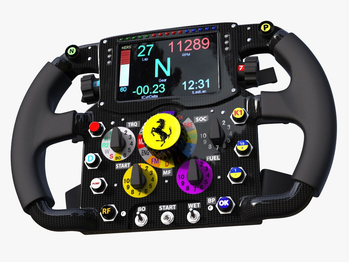 f1 steering wheel ferrari f14t 2014 | cockpits | pinterest