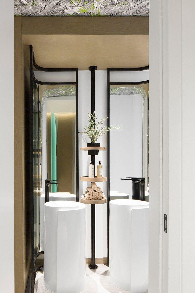 Modern Restaurant Design Blends European and Lebanese Flavors ...