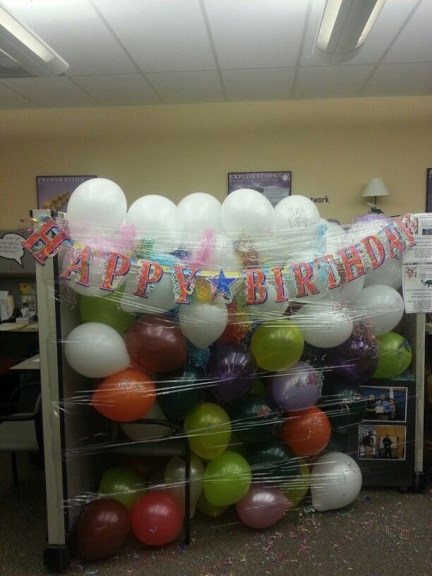 decorated all my coworkers cubicles as a surprise.htm coworkers birthday office birthday decorations  office birthday  office birthday decorations