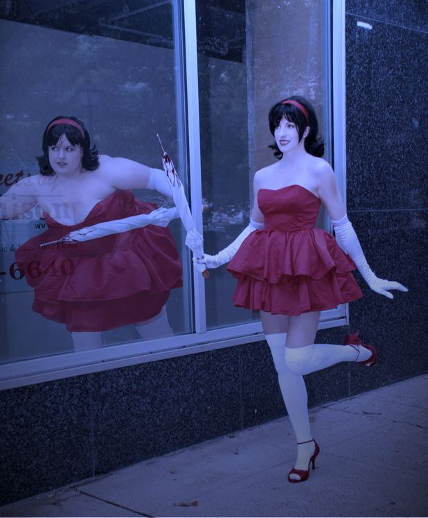 My Illusion Mima Cosplay From Perfect Blue These Cosplay Commissions By Amazonmandy Blue Anime Character Design Girl Cosplay