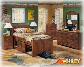 ashley furniture teen bedroom sets with desks | Ashley B191 Camp ...