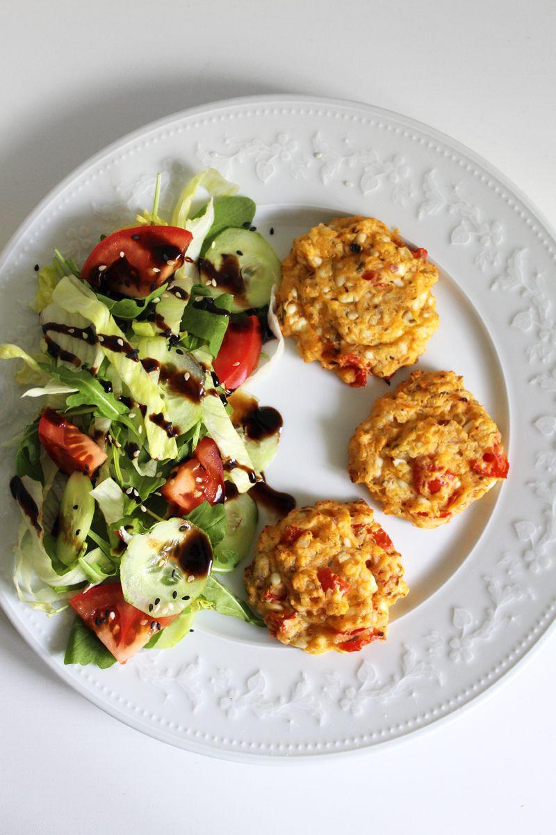 rezept f r h ttenk se cookies mit tomaten low carb oder. Black Bedroom Furniture Sets. Home Design Ideas