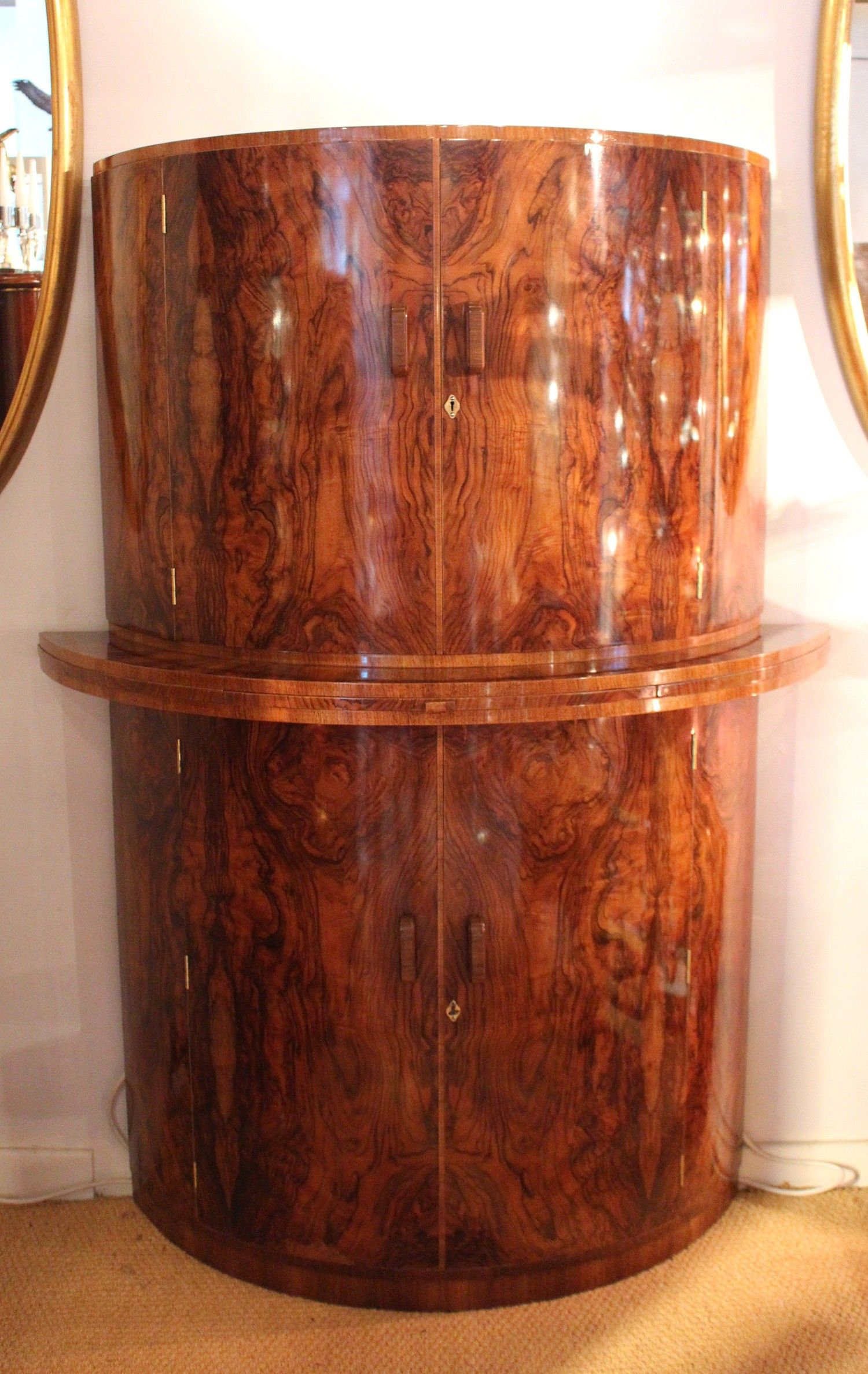 Art Deco Tail Cabinet