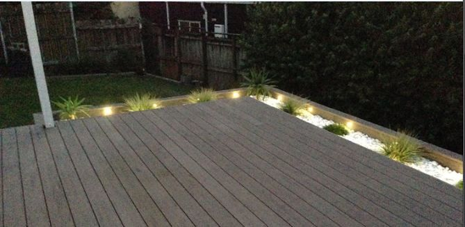 Deck lighting sets. Visit us for more information and where to buy.
