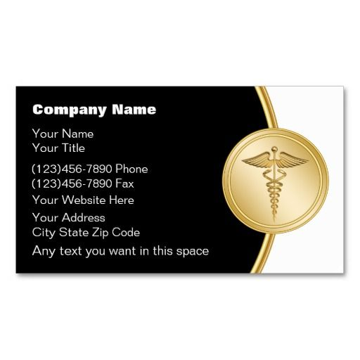 Medical Business Cards  Nurses And Doctors    Business