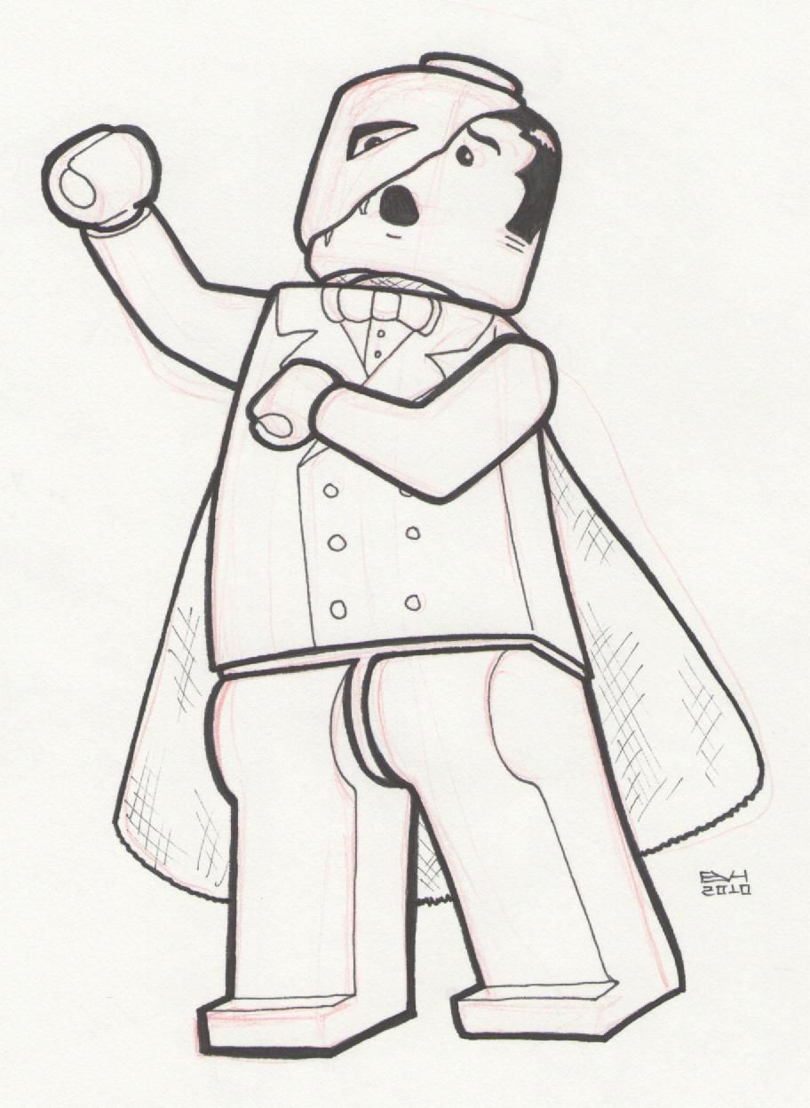 Phantom Of The Opera Coloring Page