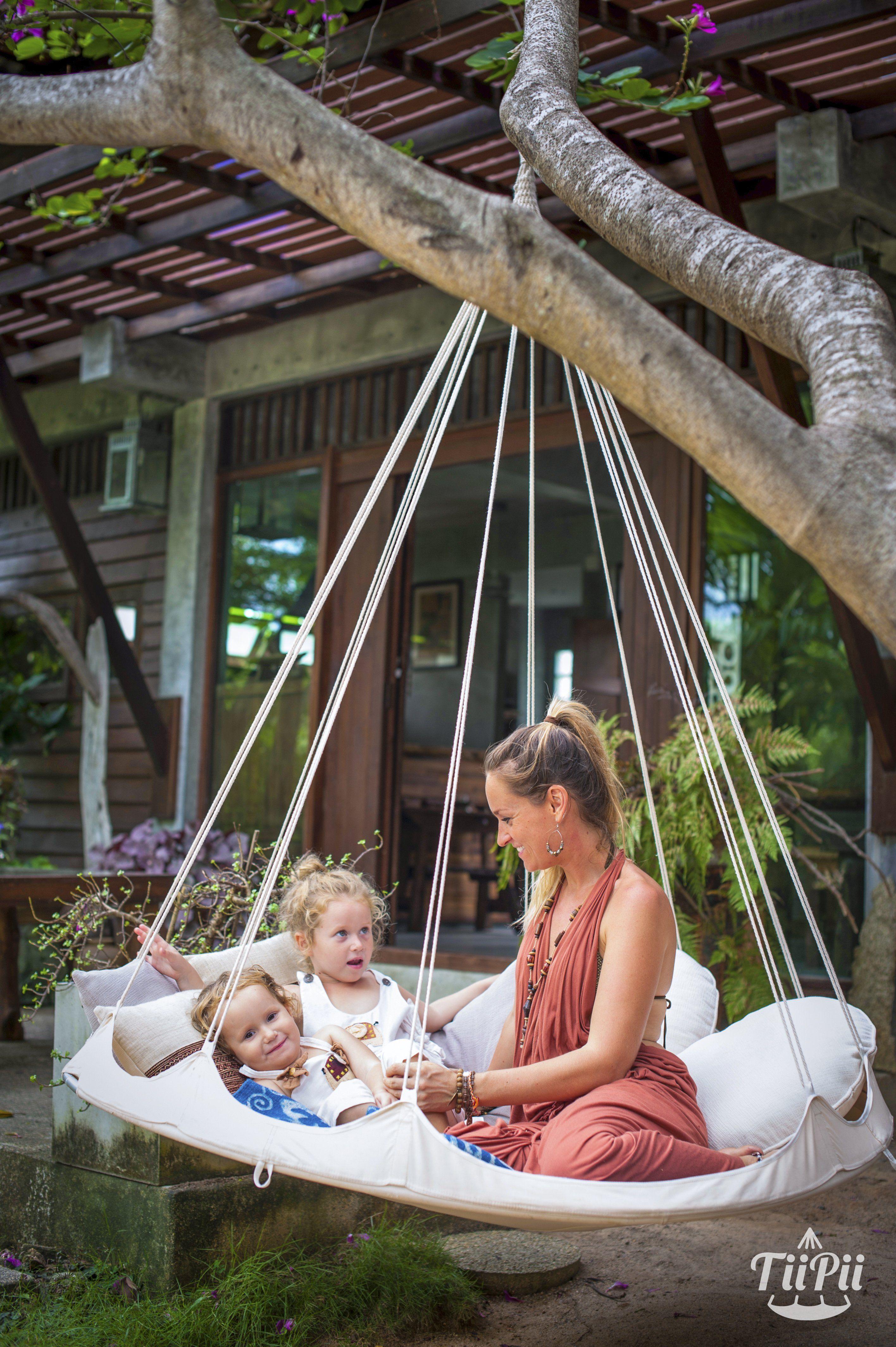 Fancy tiipii bed hammock bed outdoor living pinterest
